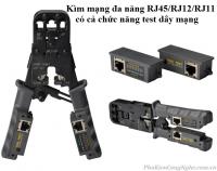 Kìm mạng đa năng + Chức năng test dây mạng HT-022