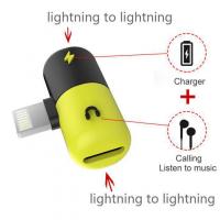 Đầu chuyển Lightning ra cổng Sạc và Tai nghe cho Iphone 7, 8, X
