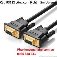 Cáp RS232 cổng com 9 chân âm 1.5m chính hãng Ugreen UG-20149