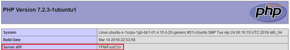 API  server  phpinfo