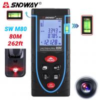 Thước đo khoảng cách 80m bằng laser SNDWAY SW-M80