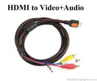 Cáp chuyển đổi HDMI sang AV (Video và Audio)
